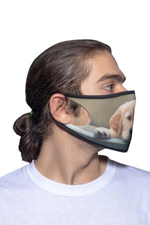 Angelino Butik - Maske Telli Yıkanabilir Biyeli US NO 34 (1)