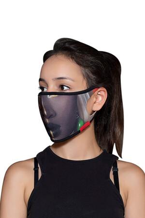 Angelino Butik - Maske Telli Yıkanabilir Biyeli US NO 35 (1)