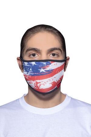 Angelino Butik - Maske Telli Yıkanabilir Biyeli US NO 43 (1)