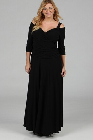 Mangolino Dress - MANGOLİNO DRESS MD109 Büyük Beden Abiye Elbise (1)