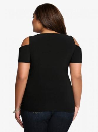 Mangolino Dress - MANGOLİNO DRESS MD6464 Büyük Beden Bluz 38-60 (1)