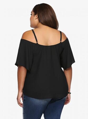 Mangolino Dress - MANGOLİNO DRESS MD7373K Büyük Beden Bluz 38-60 (1)