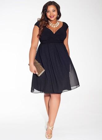 Mangolino Dress - MANGOLİNO DRESS MD7878 Büyük Beden Abiye Tüllü (1)