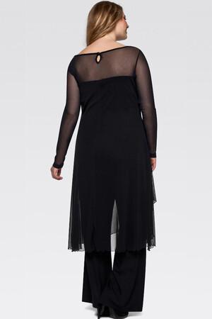 Mangolino Dress - MANGOLİNO DRESS MD7894 Büyük Beden Abiye 40-60 (1)
