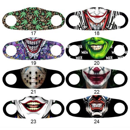 Angelino Butik - Moda Maske NewYork Baskı No 45 Yıkanabilir Yetişkin Yüz Maskesi (1)