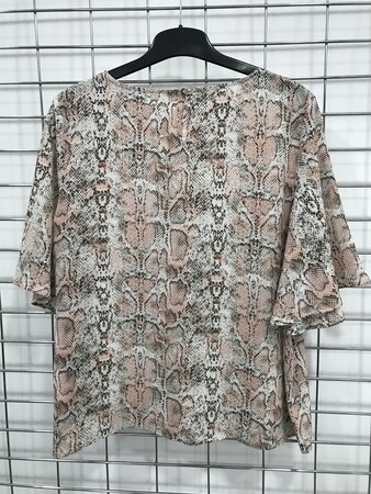 - Pelerin Kol Detaylı Bluz (1)