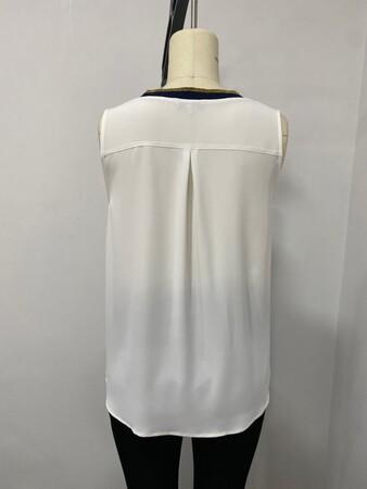 - Şerit Detaylı Kolsuz Bluz (1)