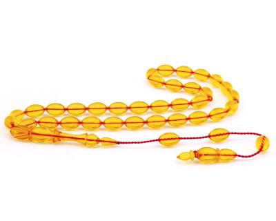 Tesbihane - Sıralı Sistem Usta İşi Sıkma Kehribar Tesbih (Model-8) (1)