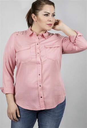 - Uzun Kollu Tencel Gömlek (1)