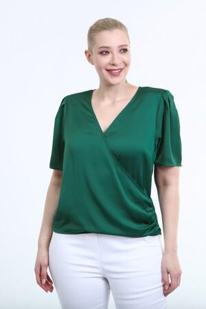 - Vatkalı Pile Detay Anvelop Bluz (1)